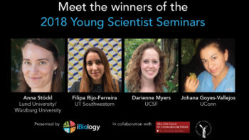 Announcing the 2018 Young Scientist Seminars Winners!